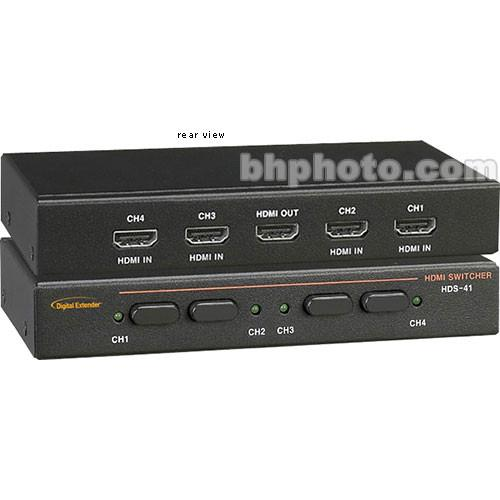 RTcom USA  HDS-41 HDMI Switcher HDS-41