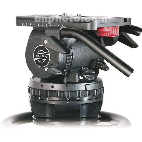 Sachtler VIDEO 25 PLUS FB Fluid Head (Flat Base) 2501P