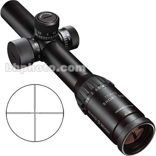 Schmidt & Bender 1.1-4x20 Short Dot CQB Riflescope 946SD
