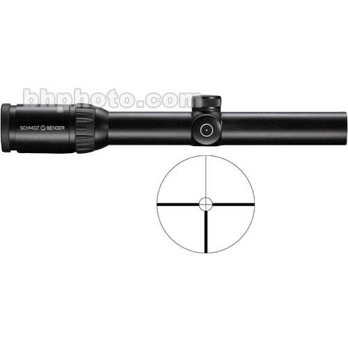 Schmidt & Bender 1.1-4x24 Zenith Riflescope with #9 976/9Z
