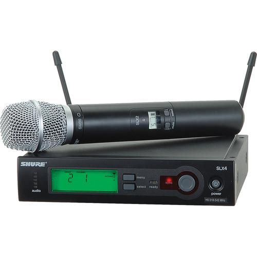Shure SLX Series Wireless Microphone System H5/518 SLX24/SM86-H5