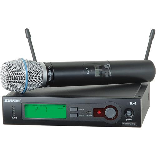 Shure SLX Series Wireless Microphone System SLX24/BETA87C-H5