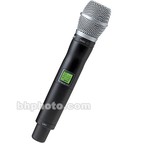 Shure UR2 Handheld Wireless Microphone Transmitter UR2/SM86-H4