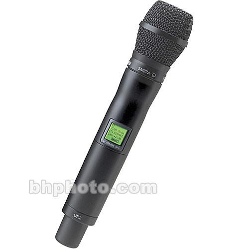 Shure UR2 Handheld Wireless Microphone Transmitter UR2/SM87-J5