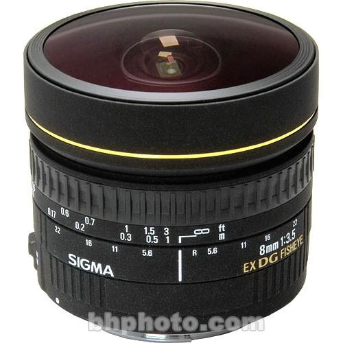 Sigma 8mm f/3.5 EX DG Circular Fisheye Lens for Sigma SA 485110
