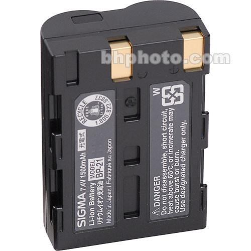 Sigma BP-21 Rechargeable Lithium-ion Battery D00008