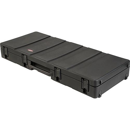 SKB 1SKB-R5220W Roto Molded 76 Note Keyboard Case 1SKB-R5220W
