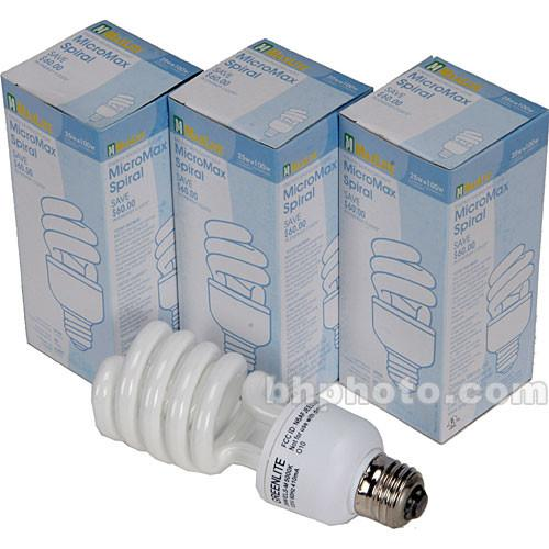 Smith-Victor 26W Spiral Fluorescent Lamps, Pack of 3 401542