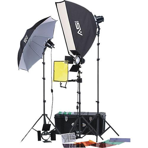 Smith-Victor K70 3-Light 1800 Watt Professional Portable 401400