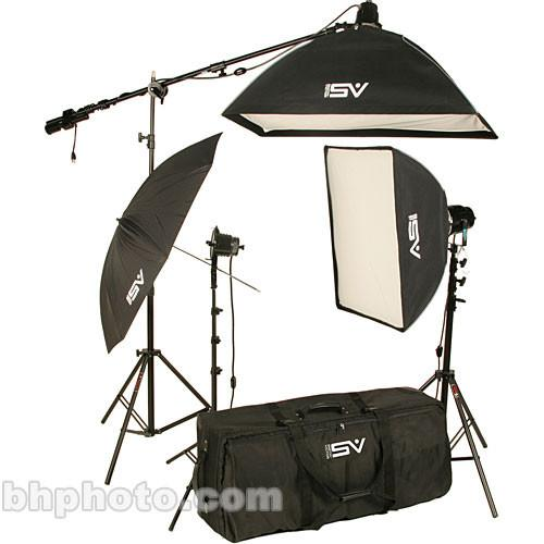 Smith-Victor K75 2-Light 2200W Professional Studio Soft 401444