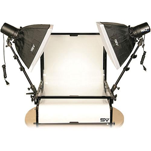 Smith-Victor TST-S2 Two Monolight Shooting Table Kit 402074