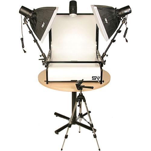 Smith-Victor TST-S3 Three Monolight Shooting Table Kit 402076