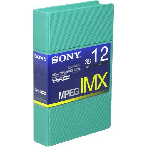 Sony BCT12MX MPEG IMX Video Cassette, Small BCT12MX