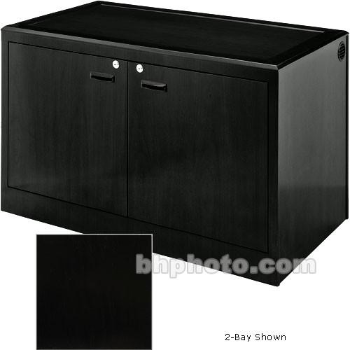 Sound-Craft Systems 4-Bay Equipment Credenza - CRDZ4BVB