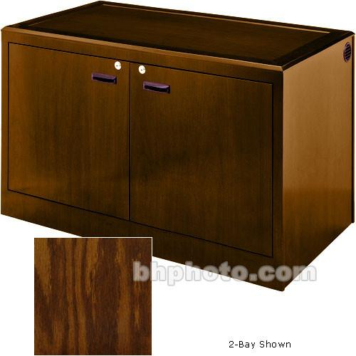 Sound-Craft Systems 4-Bay Equipment Credenza - CRDZ4BVK