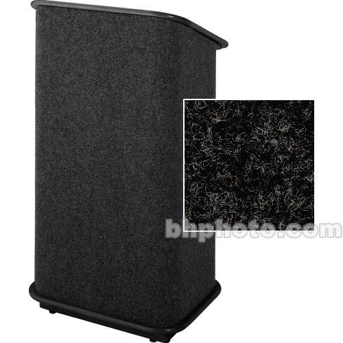 Sound-Craft Systems CFL Floor Lectern (Charcoal/Black) CFLCB