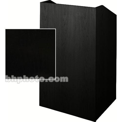 Sound-Craft Systems Floor Lectern (Black Oak) SCV27B
