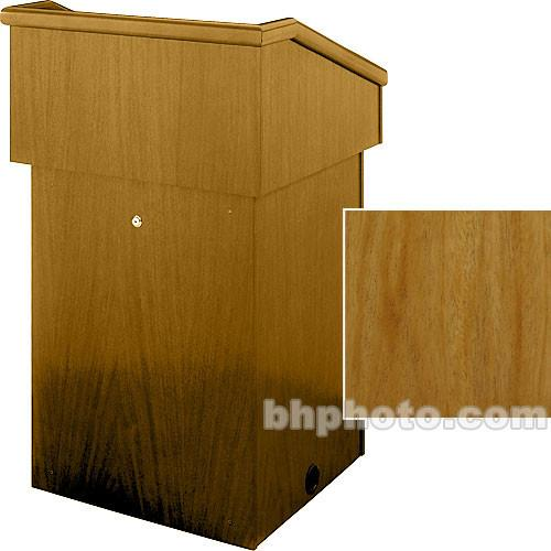 Sound-Craft Systems Floor Lectern (Natural Mahogany) LT3M