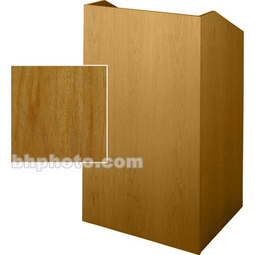 Sound-Craft Systems Floor Lectern (Natural Mahogany) SCV36M