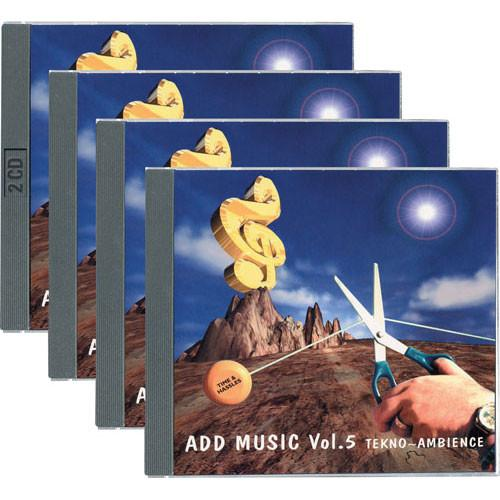 Sound Ideas Sample CD: Add Music - 5 CD Audio SS-ADDMUSIC