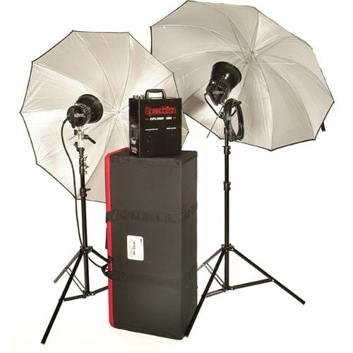 Speedotron Explorer 1500 Portable Lighting Kit with 2 850550