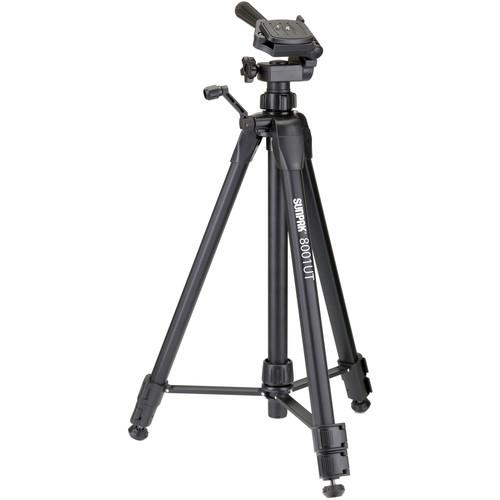 Sunpak 8001 UT Tripod with 3-Way Pan / Tilt Head 620-080