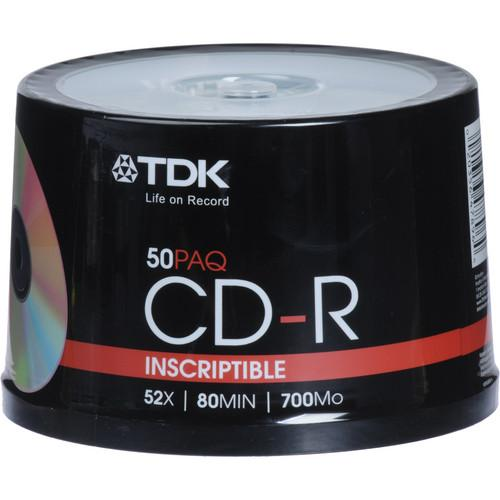 TDK  CD-R 52x Disc (50) 47896