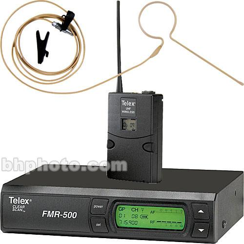 Telex FMR-500 Wireless Headset Microphone System F.01U.144.713