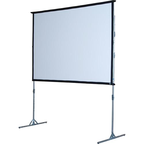 The Screen Works E-Z Fold Portable Projection Screen EZF84124MB