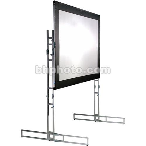 The Screen Works E-Z Fold Truss Style Front Projection EZFT719MW