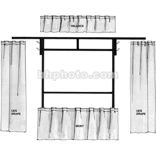 The Screen Works Trim Kit for the E-Z Fold 12x12' TKEZ1212BL