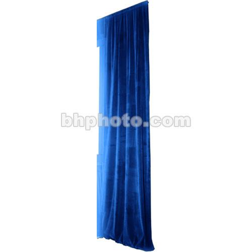 The Screen Works Truss Drapery Panel - 12x6' - Blue TDP126VBL