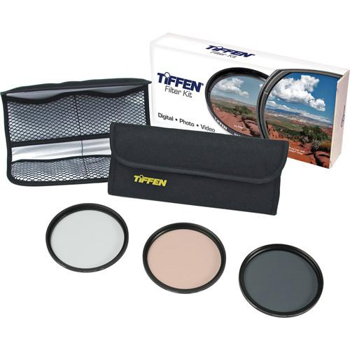 Tiffen  62mm Photo Essentials Filter Kit 62TPK1
