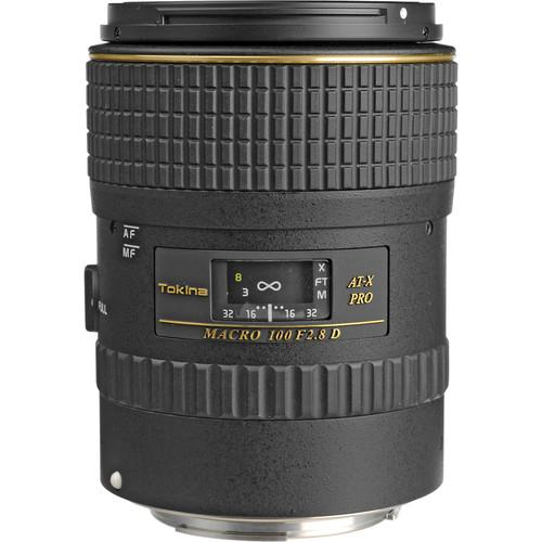 Tokina 100mm f/2.8 AT-X M100 AF Pro D Macro ATXAFM100PROC