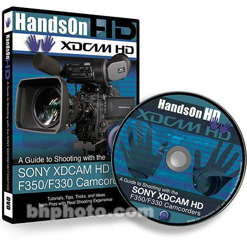Vortex Media DVD: Instructional DVD for the Sony XDCAM HD XD350