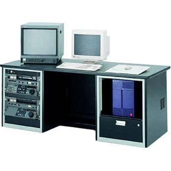 Winsted E4743 Dual-Cabinet Workstation with Two Racks E4743