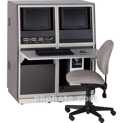 Winsted  J8648 Two-Bay Slope Video Console J8648