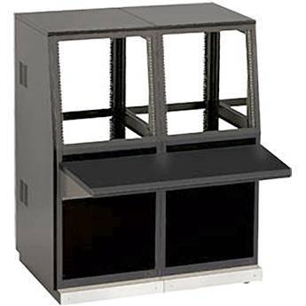 Winsted J8813 Two-Bay Slope Console, System/85 Series J8813