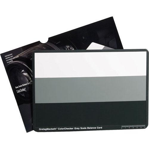 X-Rite  ColorChecker Gray Scale Card M50103