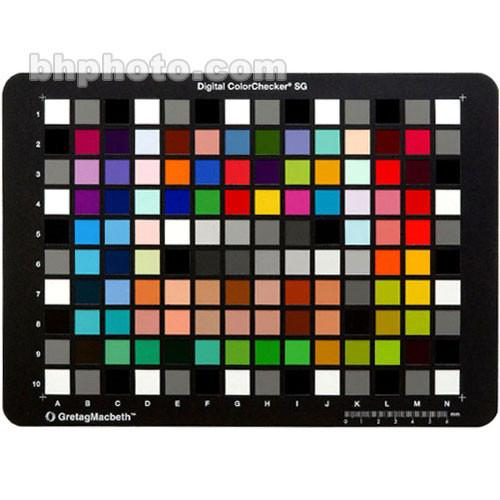X-Rite  Digital ColorChecker SG Card MSDCCSG
