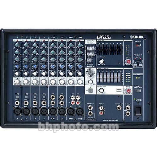 Yamaha  EMX-212S Stereo Powered Mixer EMX212S
