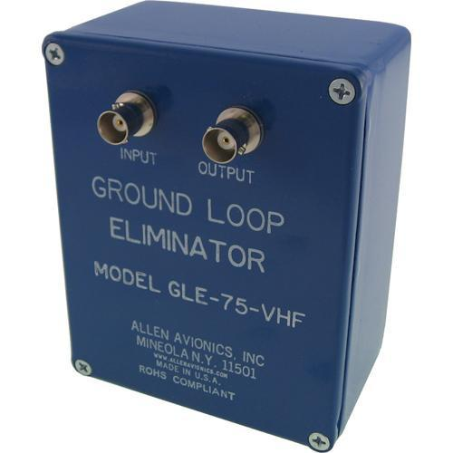 Allen Avionics GLE-75-VHF Ground Loop Hum Eliminator GLE-75-VHF