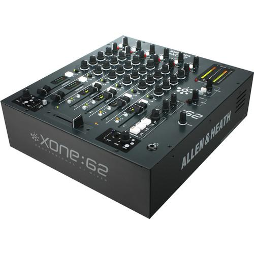 Allen & Heath XONE2:62 Six-Channel Club DJ Mixer XONE2:62