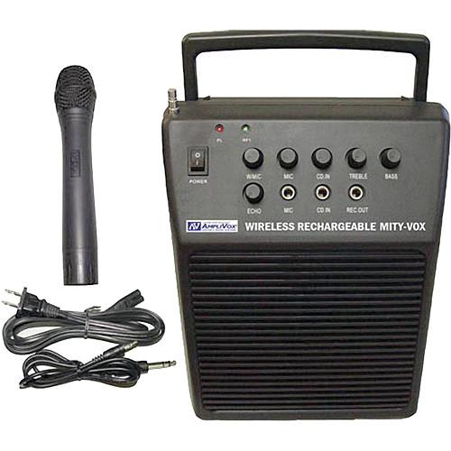 AmpliVox Sound Systems Mity-Vox - Portable Battery Powered SW212