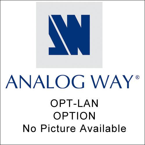 Analog Way OPT-LAN Optional TCP/IP Interface - for OCTO OPT-LAN