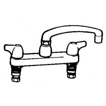 Arkay K-200D Hot & Cold Swing Deck-Mount Faucet 90Y