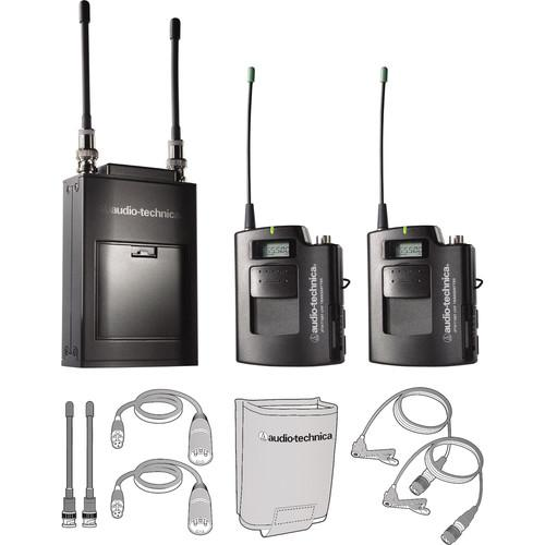 Audio-Technica ATW-1821 Dual Wireless Microphone System