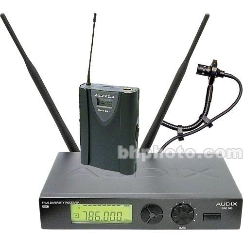 Audix RAD360 Wireless Horn Microphone System W3-ADX20IB