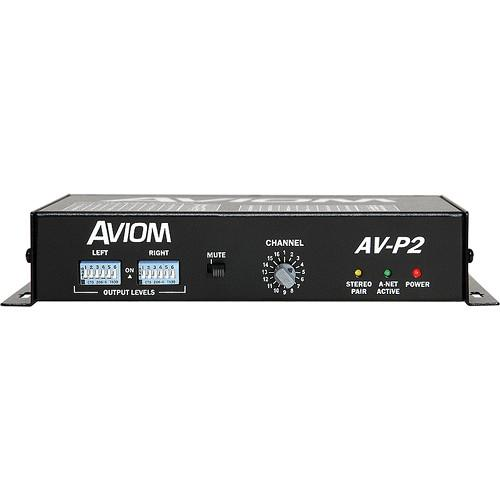 Aviom AV-P2 Two-Channel Output Module for Pro16 A-Net AV-P2