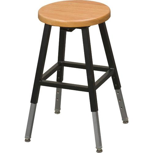 Balt 34441R Adjustable Height Lab Stool without Back 34441R